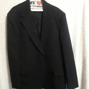J.C. Penny Quad Sports Coat. Size 42 Black